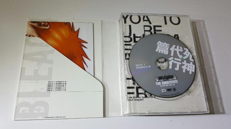 Bleach Original & Uncut: The Substitute Season 1 One 5 Disc Set