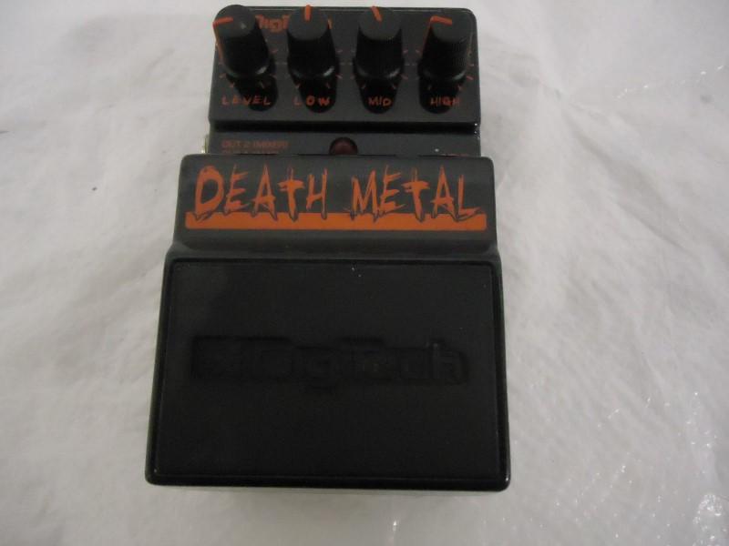 DIGITECH Effect Equipment DEATH METAL
