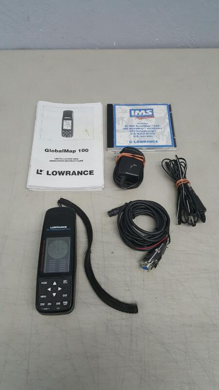 LOWRANCE GPS System GLOBALMAP 100