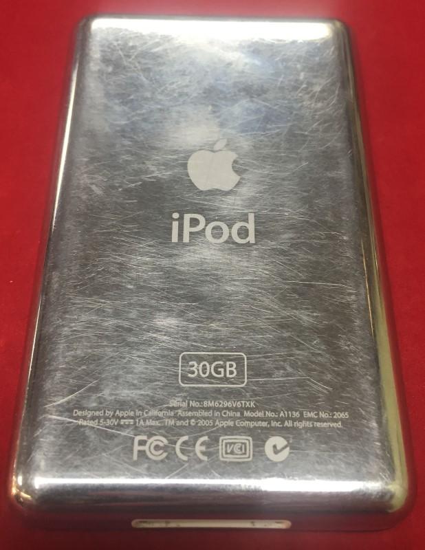 APPLE IPOD IPOD MA146LL/A 30GB BLACK