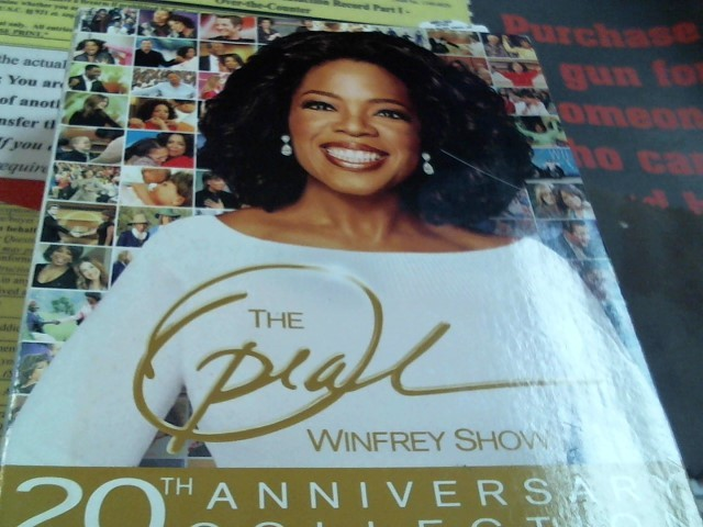 DVD THE OPRAH WINFREY SHOW 20TH ANNIVERSARY COLLECTION