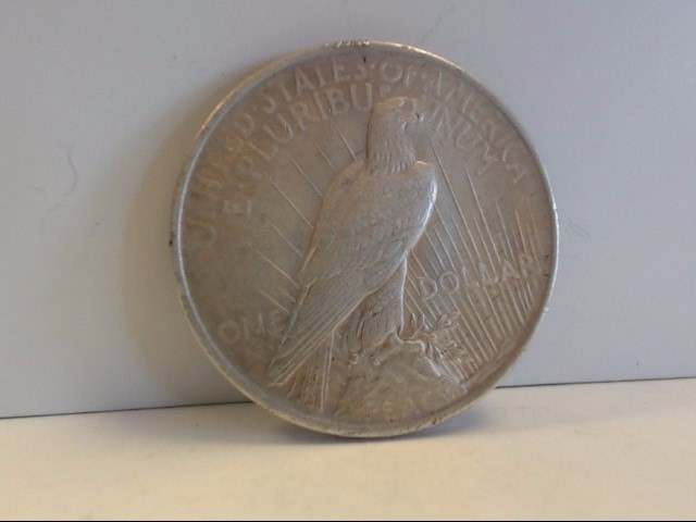 1923 Peace Dollar $1 Coin NO MINT MARK 90% Silver
