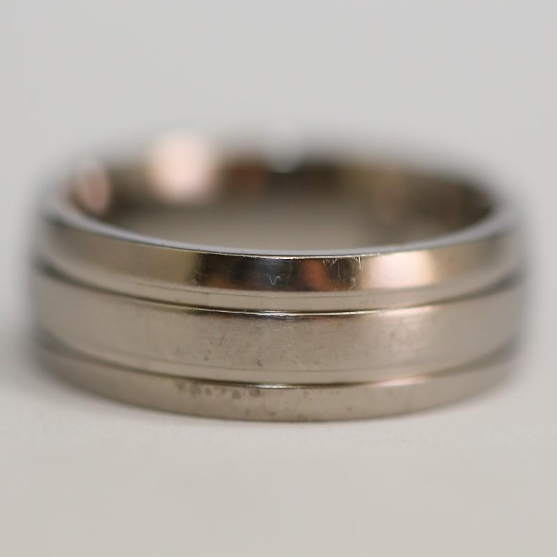 Titanium Wedding Band Size 10