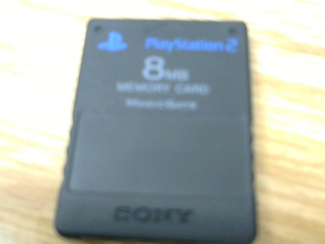 SONY Video Game Accessory SCPH-1020 PS2 MEMORY CARD 8MB