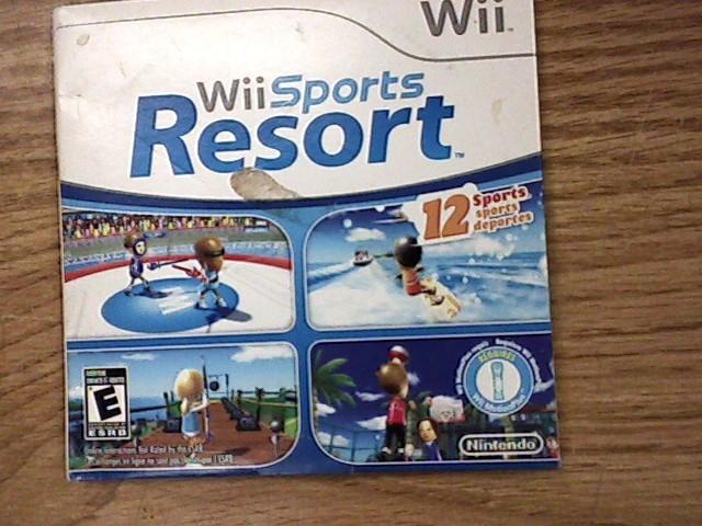 Nintendo Wii Game QUANTITY sports resort