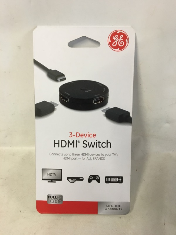 GE HDMI 3 DEVICE SWITCH