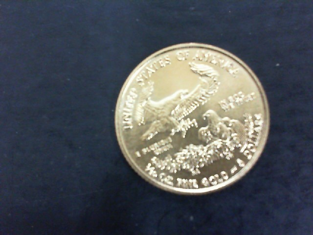 UNITED STATES Gold Coin FIVE DOLLAR GOLD COIN