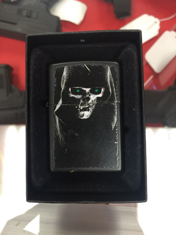 Zippo Grim Reaper Lighter
