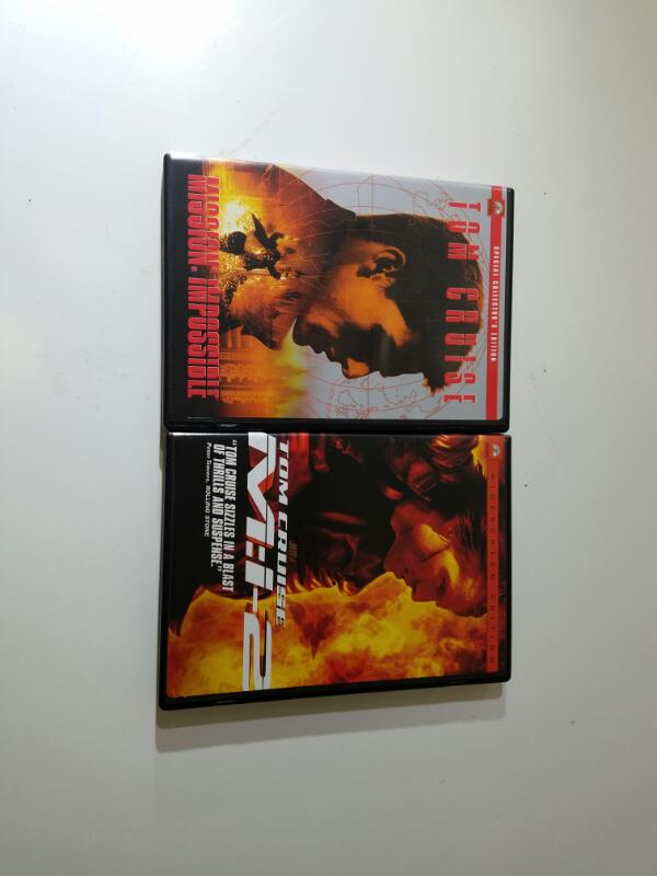 Mission Impossible Special Collectors Edition 1 & 2 (DVD, 2-Disc Set)