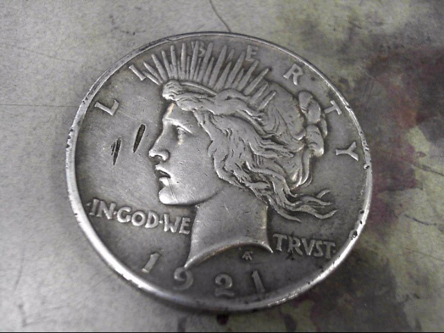 UNITED STATES Silver Coin 1921 LIBERTY PEACE COIN