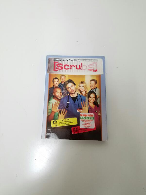 Scrubs The Complete Eighth Season 8 on DVD