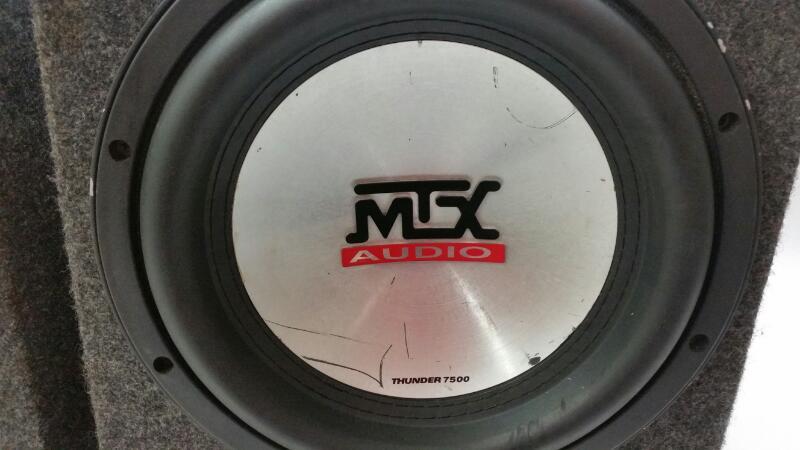 "MTX Subwoofer MTX 10"" SUB"