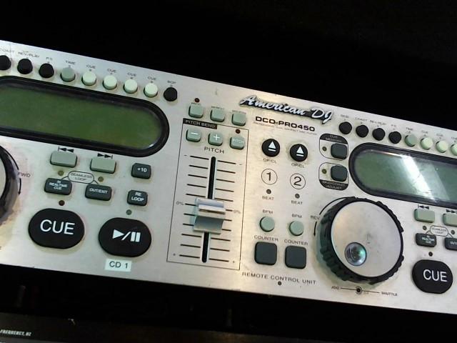 ADJ-AMERICAN DJ CD Player & Recorder DCD-PRO450