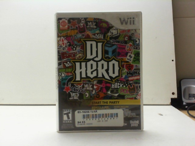 NINTENDO Nintendo Wii Game DJ HERO
