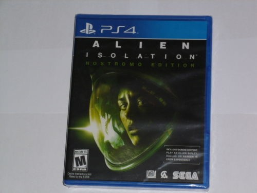 ALIEN ISOLATION NOSTROMO EDITION - PS4