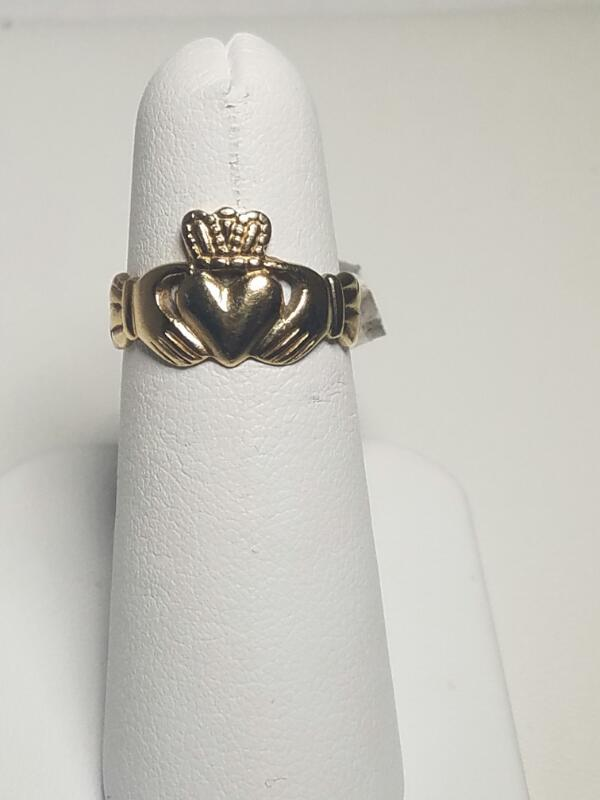 NO STONE(S)   L'S 14KT NO STONE(S) HEART CROWN 2.2_PWT/YELLOW