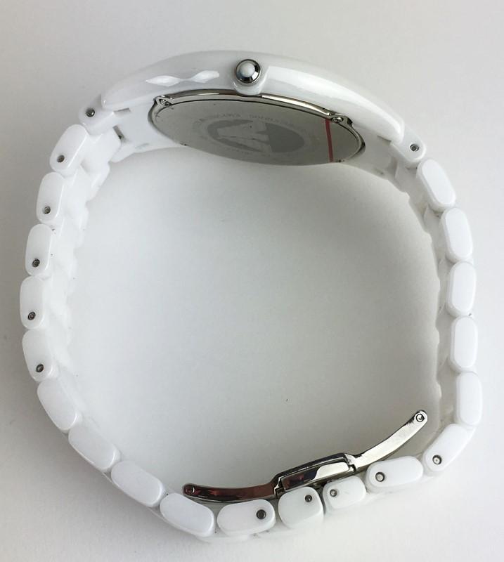 EMPORIO ARMANI WHITE QUARTZ WATCH AR-1443