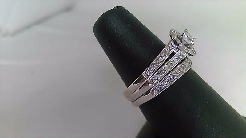 Lady's Diamond Wedding Set REF DIA B1-111108-1 61 Diamonds .76 Carat T.W.