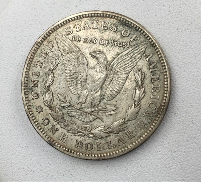 1921 D Morgan Silver Dollar - United States $1 Coin