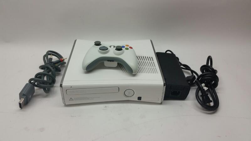 XBOX 360 250GB 1439 Console White w/1 PAD
