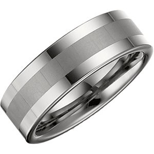 New Gent's Tungsten Band 12.5g Size 9.5 8.3mm