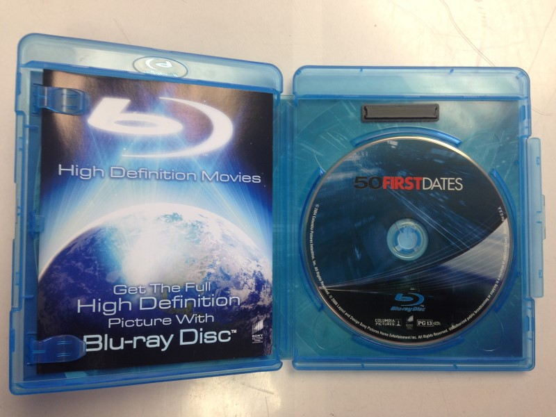 BLU-RAY MOVIE Blu-Ray 50 FIRST DATES