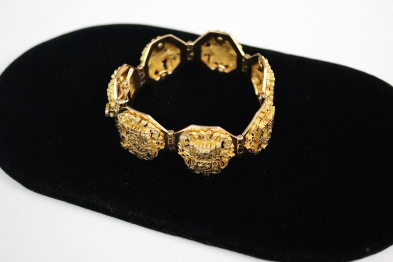 Gold Bracelet 18K Yellow Gold 75.1g