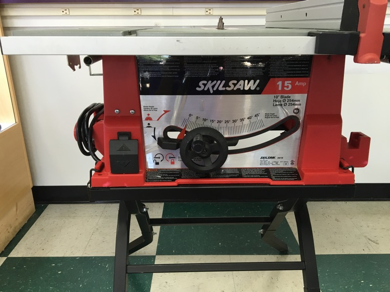 SKIL 15 AMP 10 IN. CORDED TABLE SAW WITH FOLDING STAND