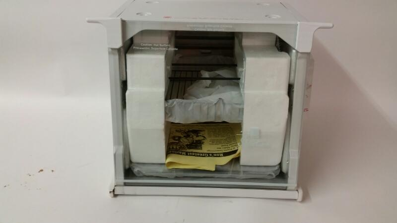 RONCO Microwave/Convection Oven SHOWTIME ROTISSERIE & BBQ