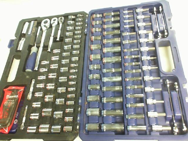 KOBALT TOOLS Mixed Machinist Tool Box TOOL 154 PC MECHANICAL'S TOOL