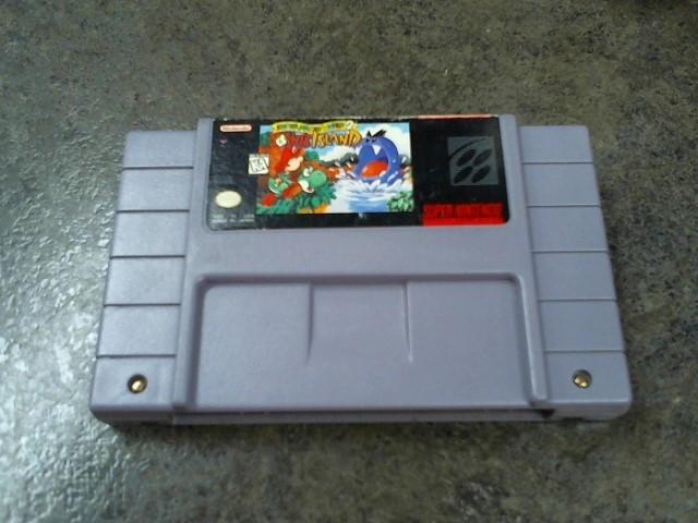 NINTENDO Nintendo SNES Game SUPER MARIO WORLD 2 YOSHI'S ISLAND