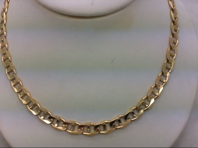 "24"" Gold Link Chain 14K Yellow Gold 41g"