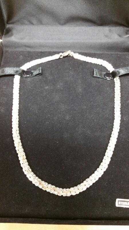 Silver Chain 925 Silver 28dwt