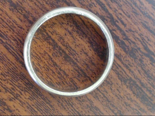 CLASSIC 4.6mm BEAD EDGE WEDDING RING BAND REAL 14K GOLD 4.7g SZ 8.75