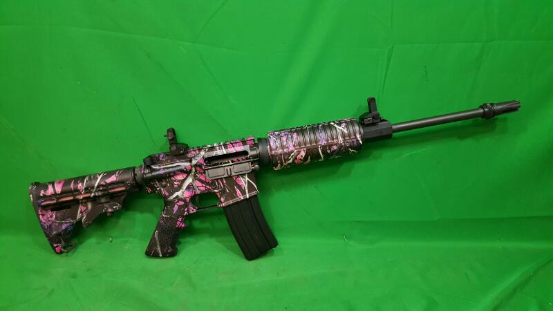 DPMS PANTHER ARMS Rifle A-15 ORACLE Muddy Girl Pink Camo
