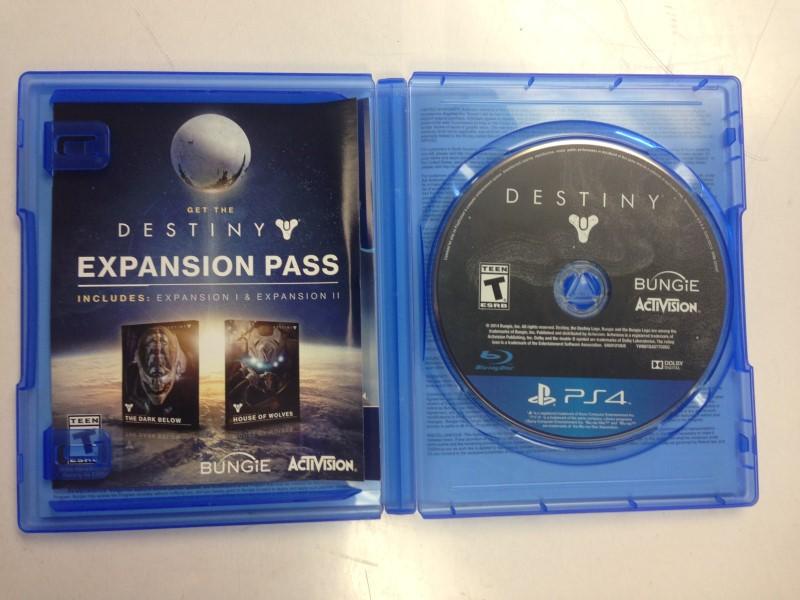 PS4 Destiny (Sony PlayStation 4, 2014)