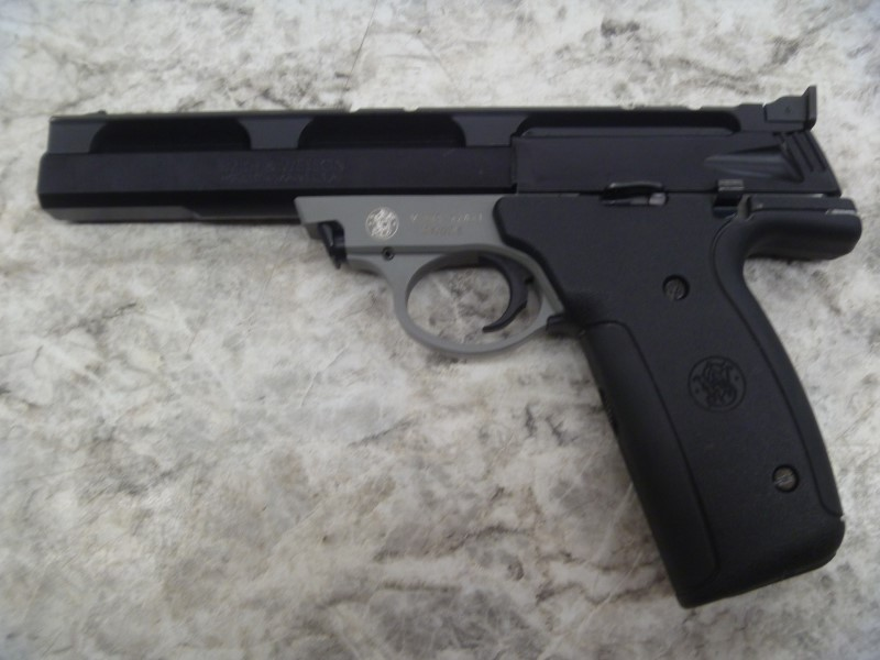 SMITH & WESSON PISTOL 22A-1, SEMI - AUTOMATIC, 22 LONG RIFLE, 6""