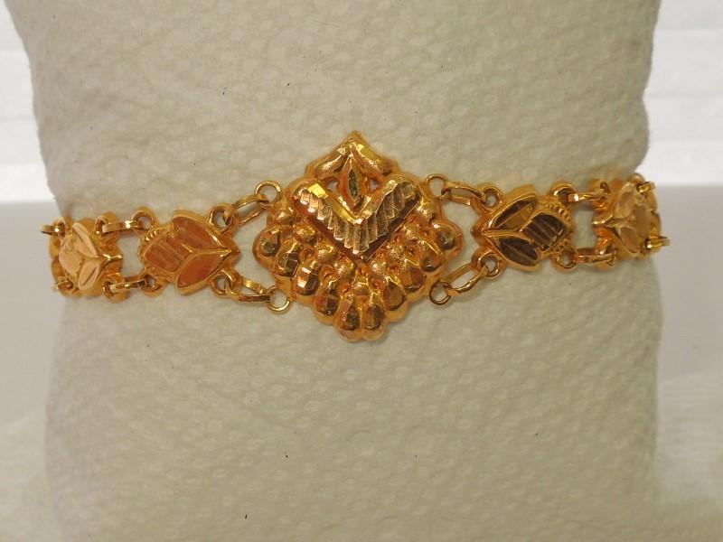 Gold Bracelet 18K Yellow Gold 7.8g