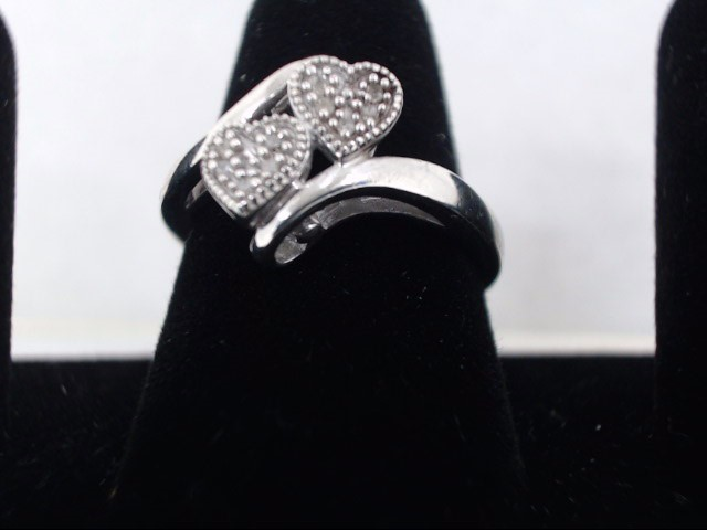 Lady's Silver Ring 925 Silver 2.7g