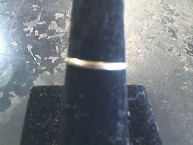 Lady's Gold Ring 14K Yellow Gold 0.6dwt Size:8.5