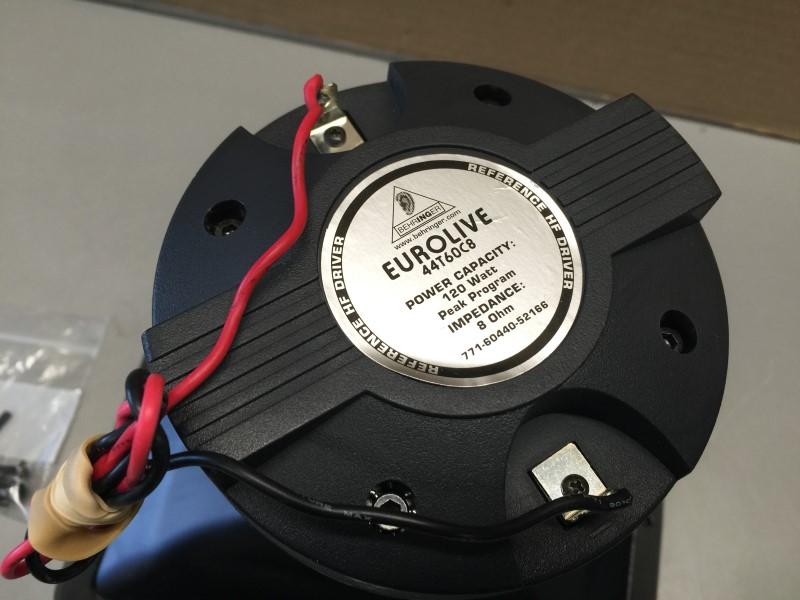 BEHRINGER EUROLIVE 44T60C8 HF COMPRESSION DRIVER & HORN, OEM B1220
