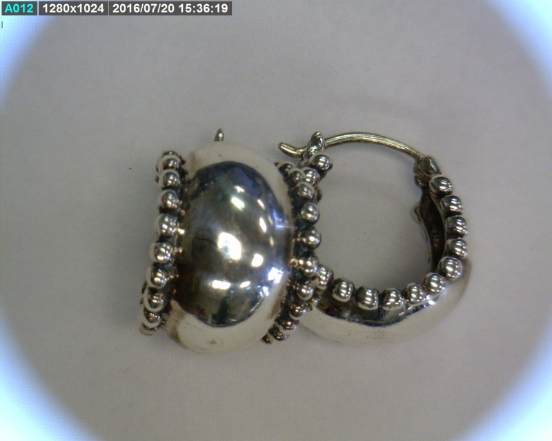 Silver Earrings 925 Silver 4.93dwt