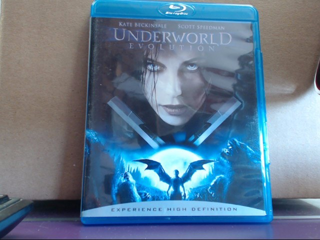 Blu-Ray UNDERWORLD EVOLUTION
