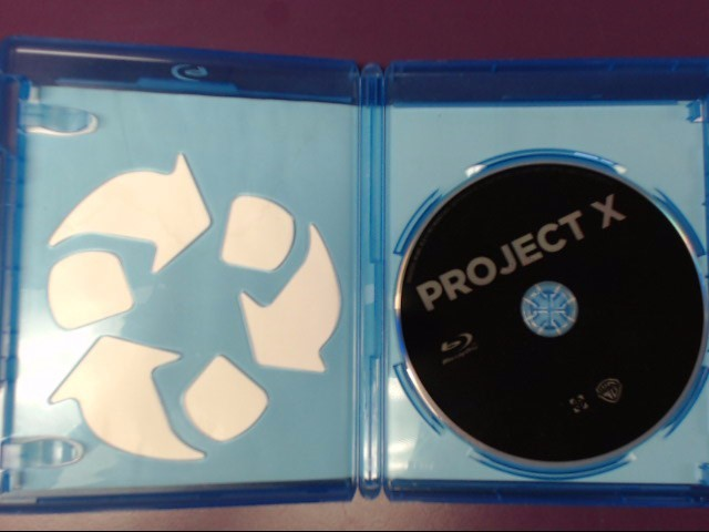 DVD BLUE-RAY: PROJECT X THE HANGOVER