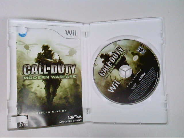 NINTENDO WII CALL OF DUTY MODERN WARFARE
