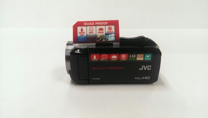 JVC HD Everio GZ-R10BU Quad Proof Camcorder | Pre-Owned
