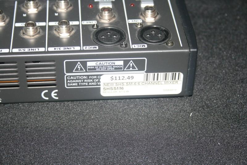 SHS Mixer SM6