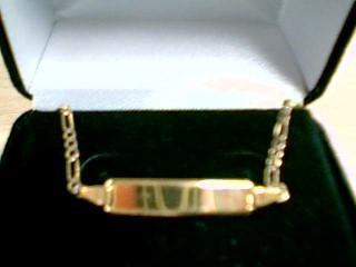 Gold Bracelet 10K Yellow Gold 1.3g