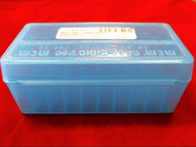 MTM Case-gard P50 Ammo Box .38-.357