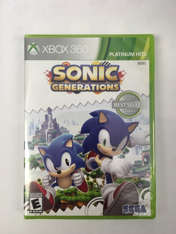 Sonic Generations - (Microsoft Xbox 360, 2011) - Factory Sealed!